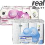 real Toilettenpapier Bigpack 3-lagig, 4-lagig, jede 20/24er-Packung - bis 23.11.2019