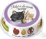 dm-drogerie markt GranataPet Nassfutter für Katzen, Adult, Filet à la carte Ente & Huhn