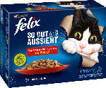 dm-drogerie markt Felix Nassfutter für Katzen, Adult, Multipack, Geschmacksvielfalt vom Land