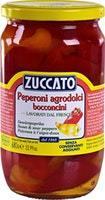 Peperoni agrodolci in aceto di vino Zuccato