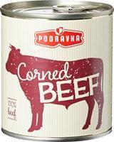 Corned Beef à base de viande de bœuf Podravka
