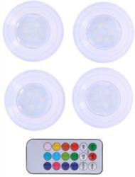 Grundig LED-Licht 4-teilig mit Farbwechsel