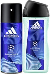 Adidas Deo Spray oder Duschgel versch. Sorten, jede 250/150-ml-Flasche/Dose