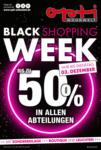 Opti Wohnwelt Black Shopping Week - bis 03.12.2019