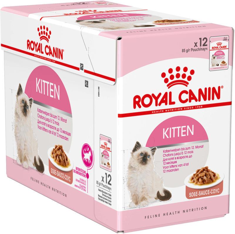 Royal Canin Kitten Instinctive Sauce 12x85g