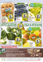 SPAR Flugblatt - Vitamine um 1 Euro
