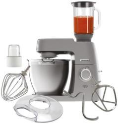 Kenwood KVL6320S Chef XL Elite + AT320 Küchenmaschine + Kräuter- und Gewürzmühle