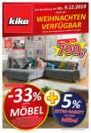 kika Möbel kika - Noch vor Weihnachten verfügbar! - gültig bis 16.12. - bis 16.12.2019