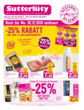 Sutterlüty Flugblatt - gültig bis 4.12.
