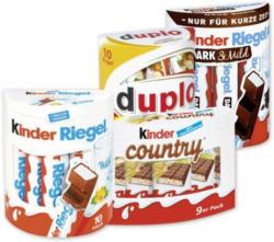 Ferrero Country, Duplo* od. Kinder Riegel*