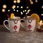 mömax Klagenfurt Kaffeebecherset aus Porzellan 2-teilig ''Moosy''