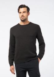 Pierre Cardin Rundhals-Pullover aus Schurwolle