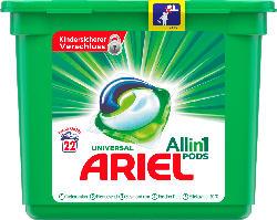 ARIEL Vollwaschmittel All-in-1 PODS