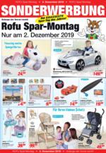 Sonderwerbung Spar-Montag