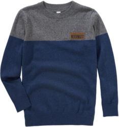 Jungen Pullover im zweifabigem Dessin