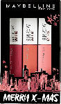 dm-drogerie markt Maybelline New York X-MAS Set Red - Superstay Matte INK 80 + Superstay Matte INK 60 + Superstay Matte INK 10