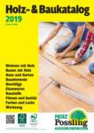 Holz Possling Holz- & Baukatalog - bis 31.12.2019