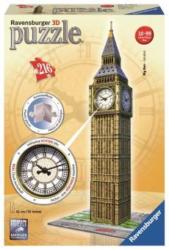3D Puzzle-Bauwerke - Big Ben mit Uhr - 216 Teile
