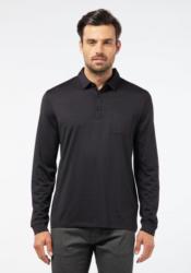 Pierre Cardin Voyage Poloshirt mit cleanem Look »0«