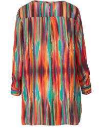 Sara Lindholm by Happy Size Longbluse mit Allover-Print