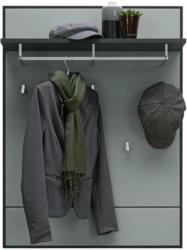 Garderobenpaneel 80,8/108,4/23 cm