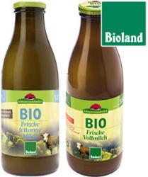 Schwarzwaldmilch Bioland Frische Milch 1,5/3,8 % Fett, jede 1-Liter-Flasche