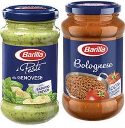 Barilla Pesto alla Genovese oder -Sauce Bolognese jedes-190/400-g-Glas und weitere Sorten