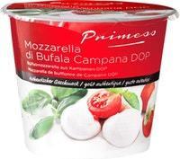 Mozzarella de bufflonne de Campanie DOP Primess