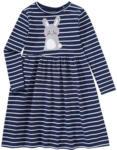 Ernsting's family Mädchen Kleid mit Hasen-Applikation