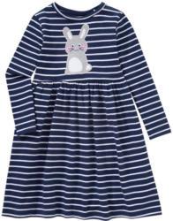 Mädchen Kleid mit Hasen-Applikation