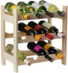 Möbelix Weinregal Vino 12 Flaschen Kiefer