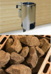 Möbelix Saunaofen Set 3,6 Kw, Kompakt 230 V
