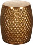 Möbelix Beistelltisch Sita D: ca. 32cm Goldfarben