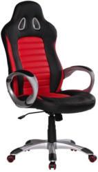 Gamingstuhl Racer B: 66 cm Schwarz/ Rot