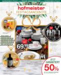 Hofmeister Aktuelle Angebote - bis 31.12.2019