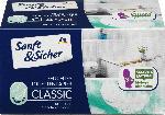 dm-drogerie markt Sanft&Sicher Feuchtes Toilettenpapier Classic Sensitive