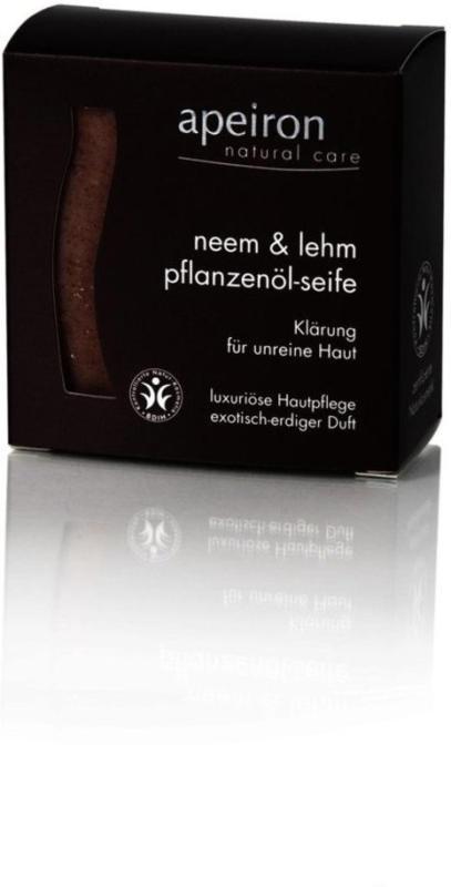 Neem & Lehm Pflanzenöl-Seife