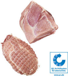 Frischer Schweinerollbraten aus der Schulter, je 1 kg