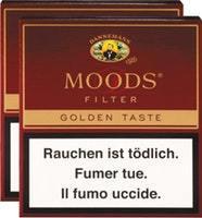 Dannemann Moods Filter Cigarillos Golden Taste