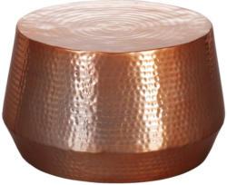 Beistelltisch Mahesh D: 60 cm Kupferfarben
