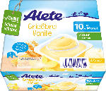 dm-drogerie markt Alete Milchbecher Grießbrei Vanille ab 10. Monat, 4x100g