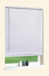 PVC Jalousie, weiß, ca. 80 x 150 cm