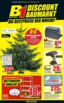 B1 Discount Baumarkt Wochen Angebote - bis 21.12.2019
