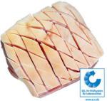real Frischer Schinkenkrustenbraten vom Schwein, mit Knochen, Speck und Kruste,  je 1 kg - bis 21.12.2019