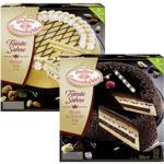 real Coppenrath & Wiese Feinste Sahne Marzipan Torte oder Mousse au Chocolat gefroren, jede 1250/1200-g-Packung und weitere Sorten - bis 21.12.2019