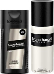 bruno banani Hair & Shower oder Deodorant Spray versch. Sorten, jede 250/150-ml-Flasche/Dose