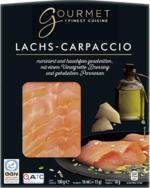 GOURMET Lachs-Carpaccio