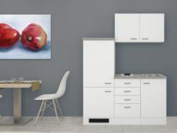Miniküche Wito 160 cm Weiß