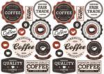 POCO Wandtattoo Coffee-Shop
