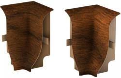 Innenecken für Laminatleisten, Nussbaum Classic, ca. 40 mm hoch